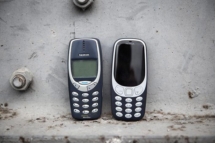 Nokia 3310 2017 nou vechi
