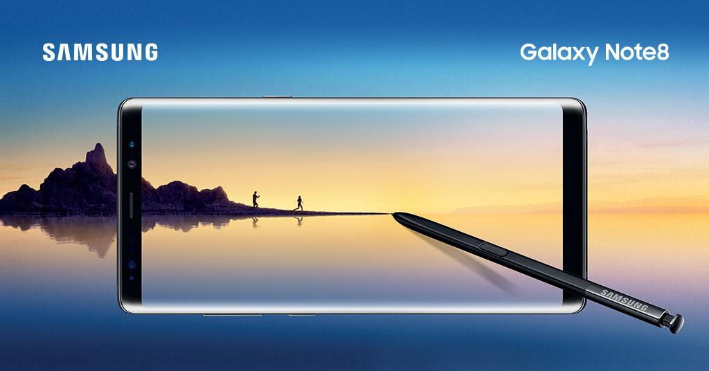 Samsung Galaxy Note 8 – do bigger things!