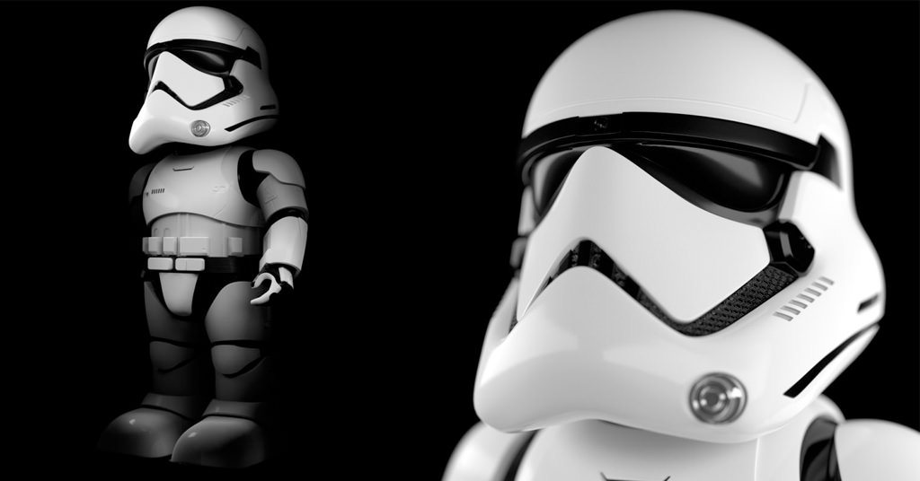 Robotul Star Wars Stormtrooper de la UBTECH – noul gardian al casei tale