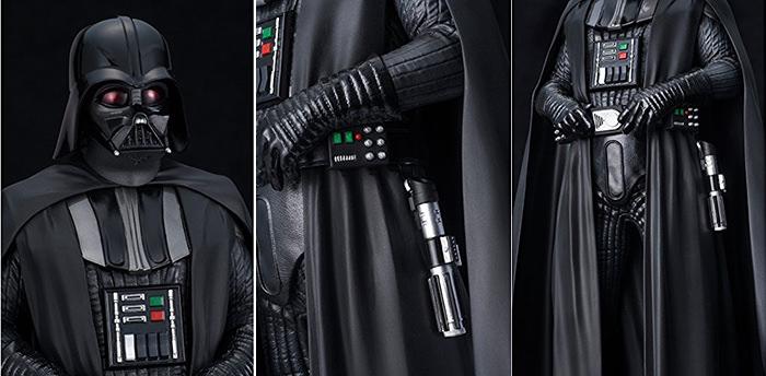 Detalii figurina Darth Vader