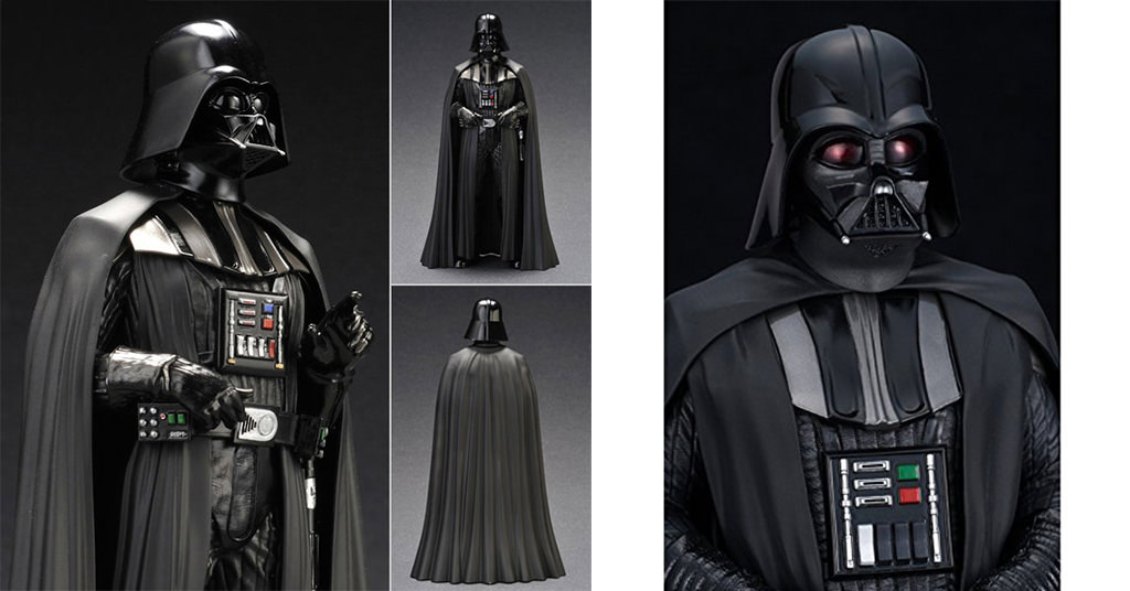 Figurina Darth Vader din Episodul IV – A New Hope