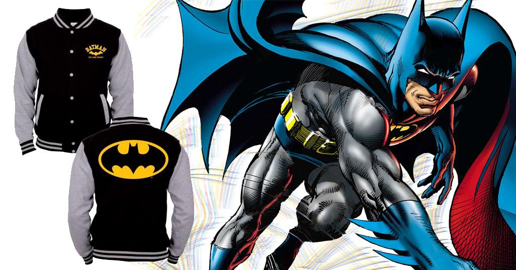 Geacă logo Batman pentru eroul din tine
