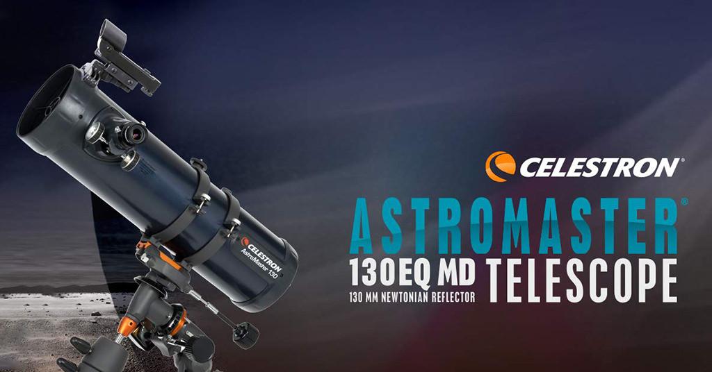 Telescopul Celestron AstroMaster 130 EQ – privește spre stele!