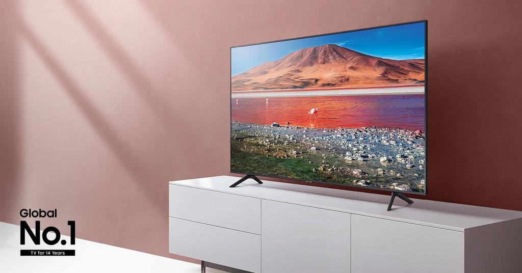 Televizor Samsung 50TU7172: rezoluție 4K și diagonală de 125 cm la preț accesibil
